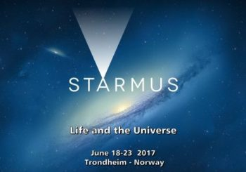 Starmus Festival Of Science And Arts in Trondheim, Norway between 18 – 23 June.