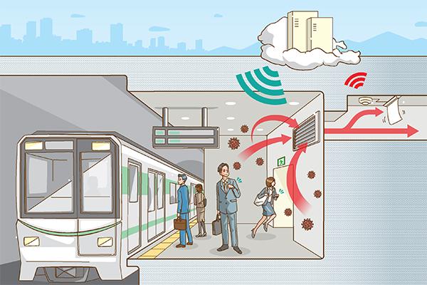 Tohoku University – wearable sensors for detecting viruses and bacteria in the surrounding environment